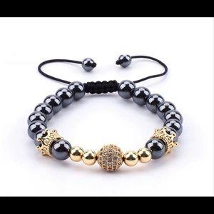 Other - Howlite Beaded Bracelet